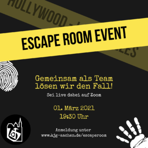 Escape Room Event @ Online auf Zoom